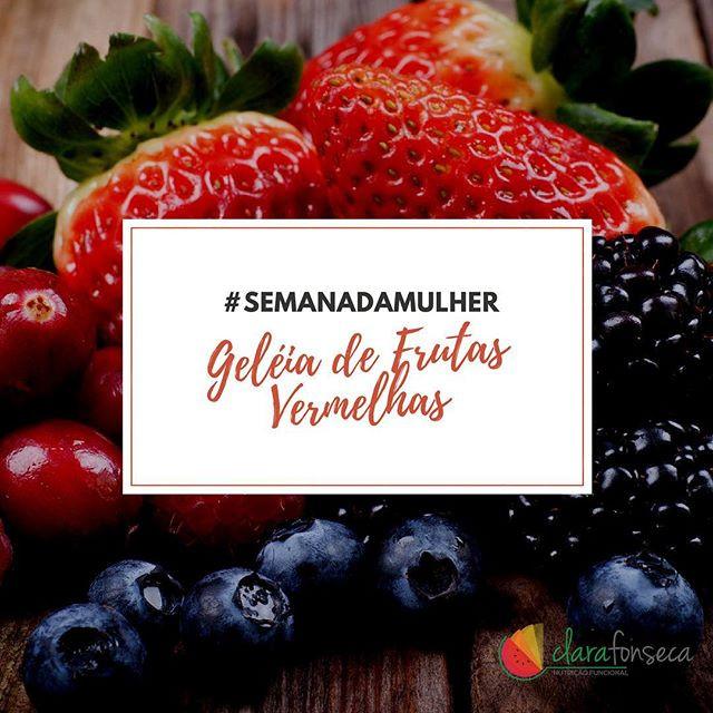Geléia de Frutas Vermelhas para Menopausa