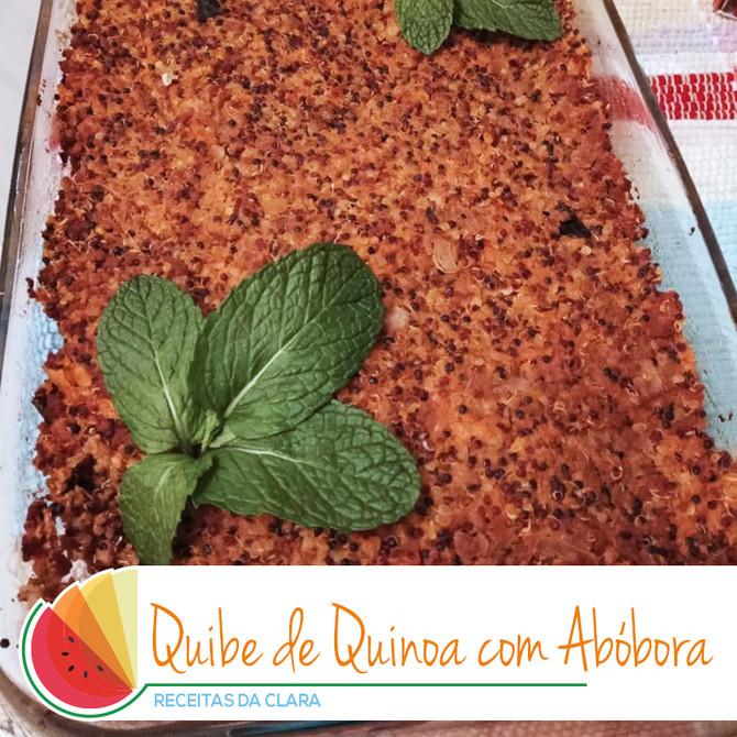 Quibe de Quinoa com Abóbora
