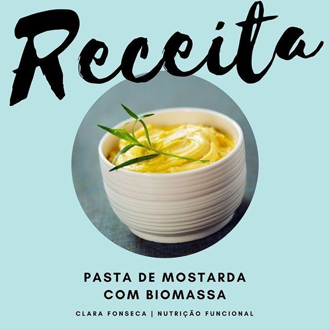 Pasta de Mostarda com Biomassa