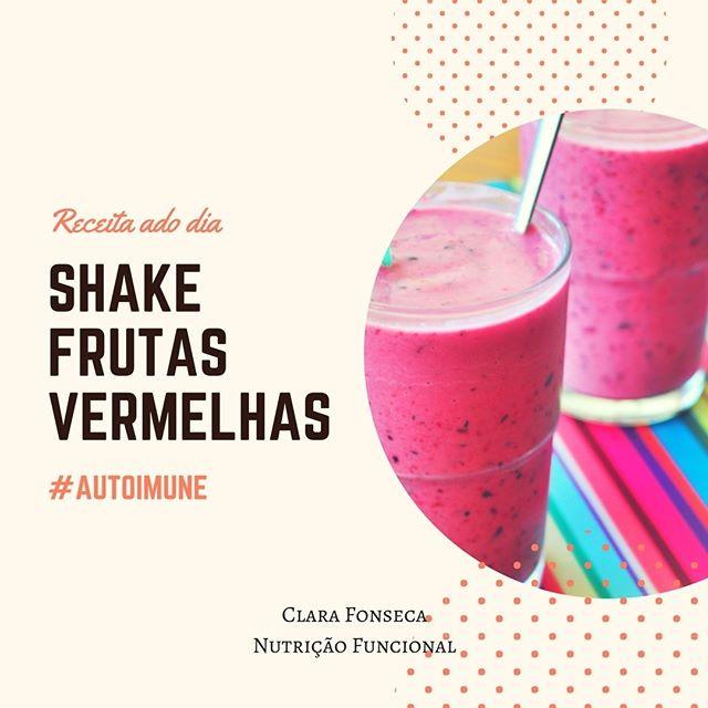 Shake de Frutas Vermelhas Auto Imune
