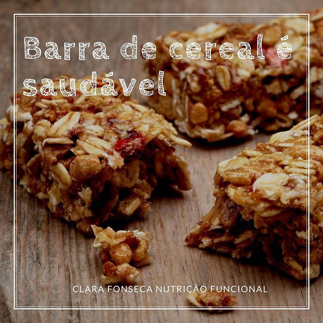 Barra de Cereal é Saudável?