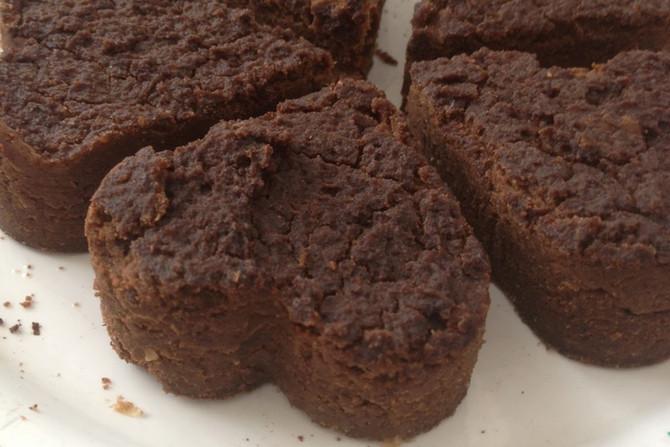 Brownies de Grão de Bico