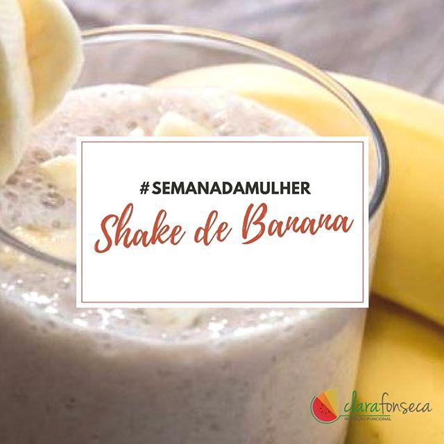 Shake de Banana para melhorar Libido