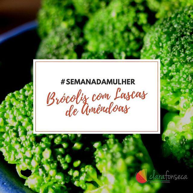 Brócolis com Lascas de Amêndoas Anti TPM