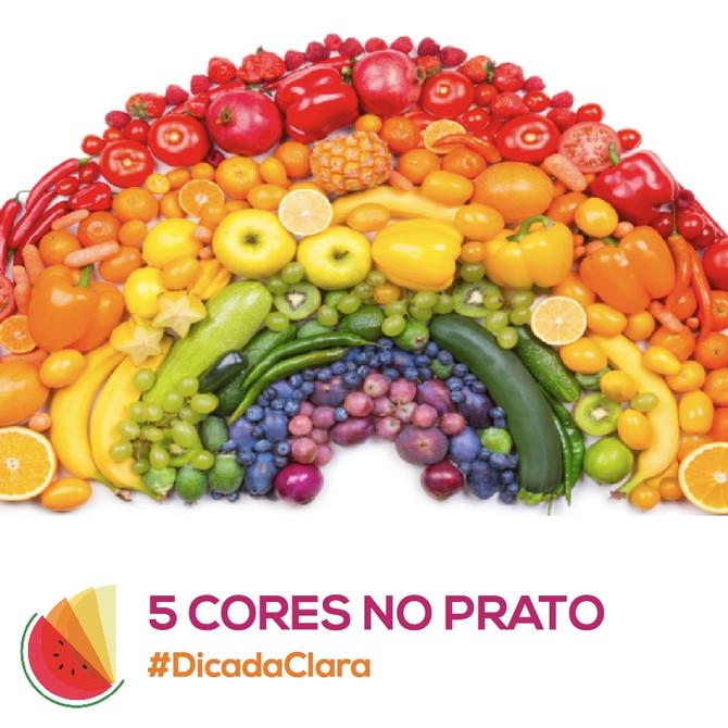 5 Cores no Prato