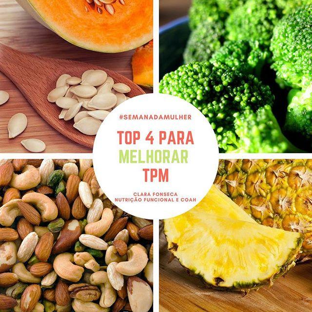 Alimentos para melhorar a TPM