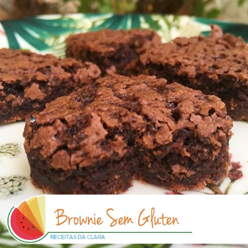 Brownie sem glúten e sem leite