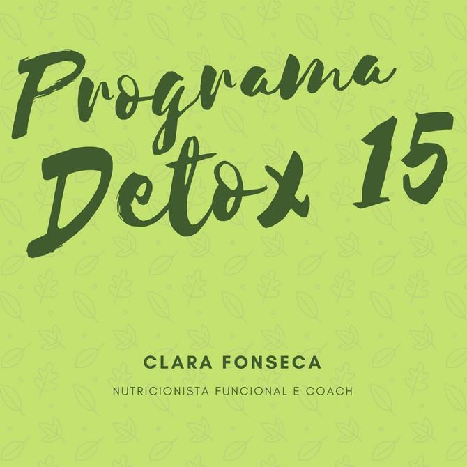 Programa Detox 15