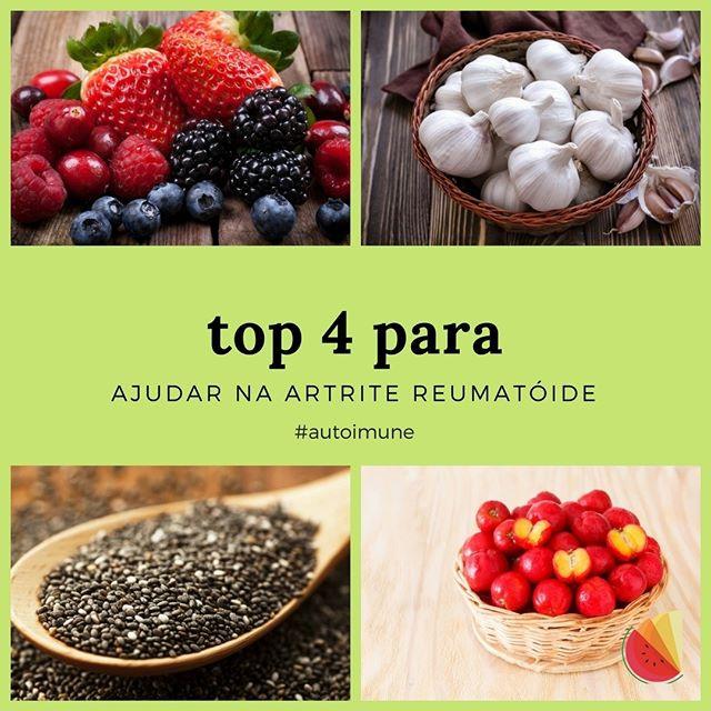 Alimentos para Artrite Reumatóide