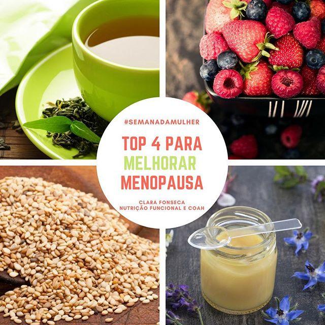 Top 4 para Melhorar os Sintomas da Menopausa