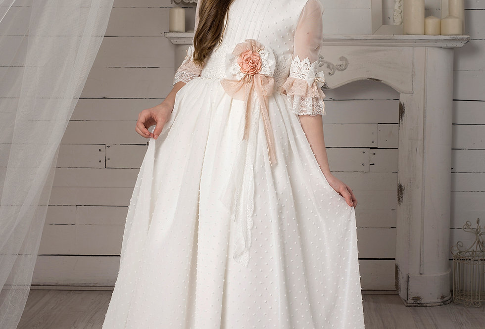 Vestido Niña Plumeti