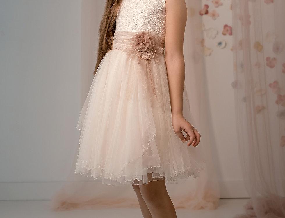 Vestido Tul Rosado