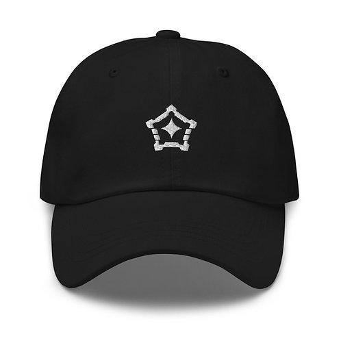 Logo 'Dad' Hat (White)