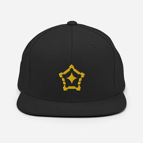 Logo Snapback Hat (Gold)