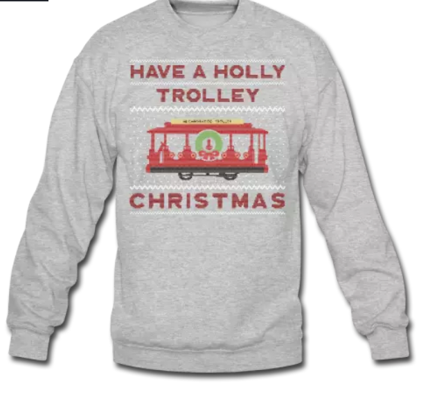 Have a Holly Trolley Christmas