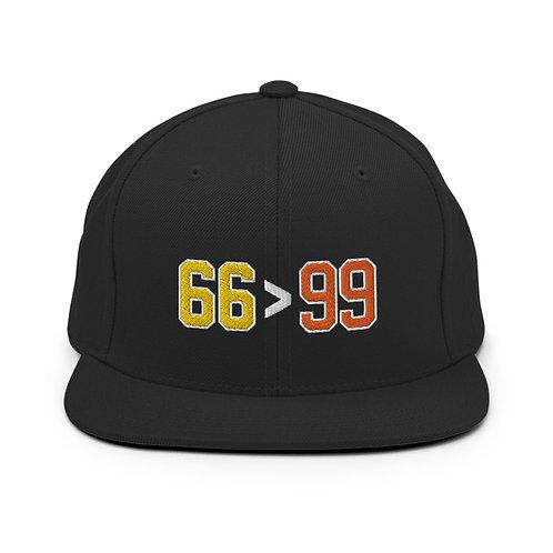 66 > 99 Snapback
