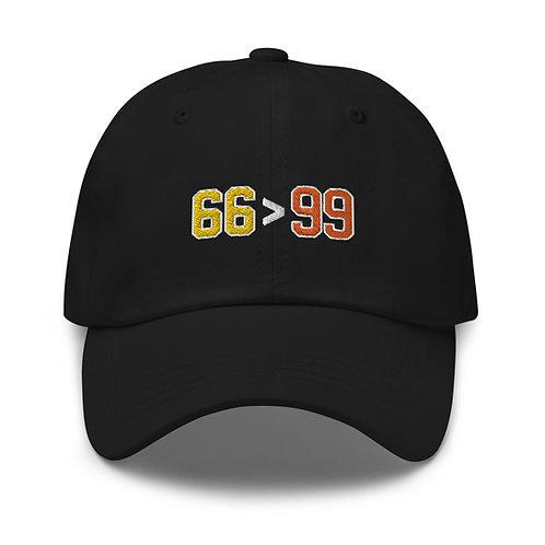 66 > 99 'Dad' Hat