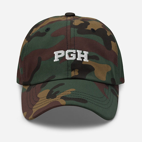 PGH 'Dad' Hat (White)