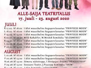 Teatritalus on tulemas tegus suvi