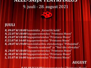 Teatrisuvi 2021 on teel!