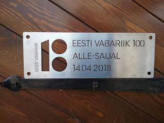 Tänutahvel Eesti Vabariigilt