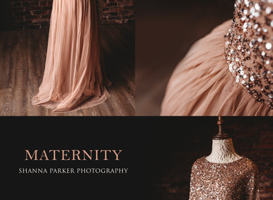 Maternity Gowns are available for use during your Session