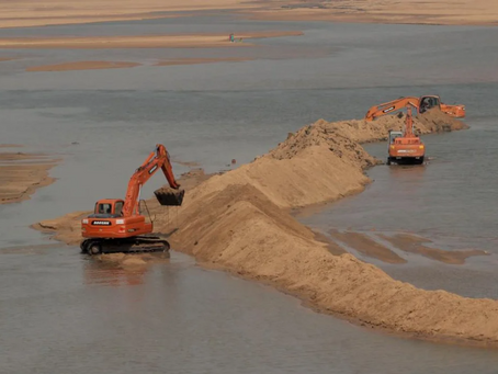 Exploitation of The Earth : Legalities and Illegalities of Sand Mining