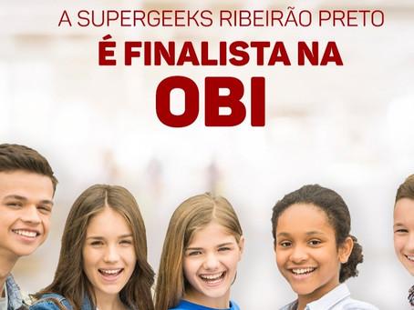 SuperGeeks Ribeirão Preto é finalista na OBI