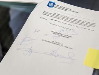Reunião Assinatura Fundo Municipal de Inovação