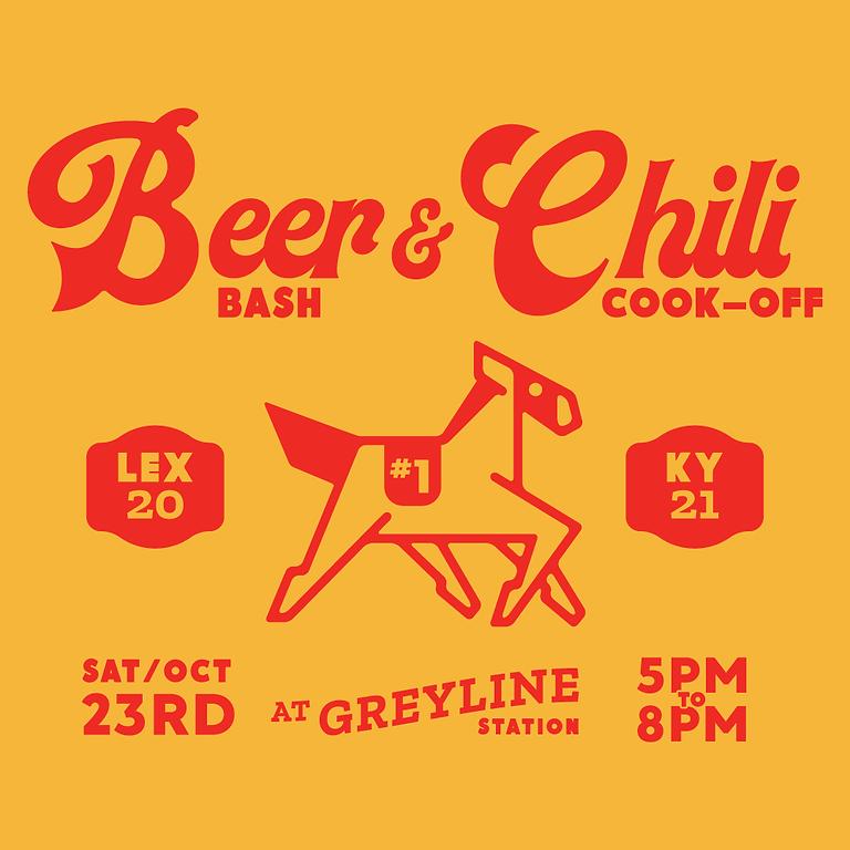Beer Bash & Chili Cook Off at Greyline Station