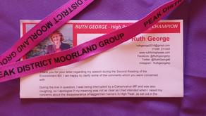 Ruth George writes back
