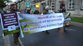 Moorland Communities Stage Peaceful Protest In Harrogate