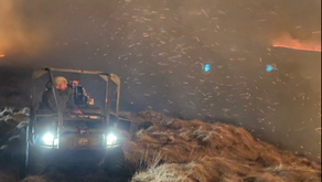 Air pollution from Marsden Moor wildfire threatens 'serious health impact' on local communities
