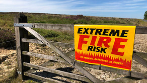 North Yorkshire Moors remains on 'fire alert' due to dry  conditions