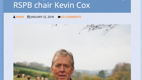 1st Dec: Kevin Cox, RSPB Chair