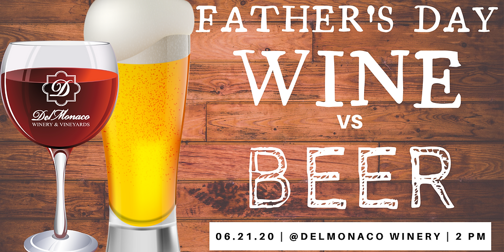 Wine vs. Beer Father's Day