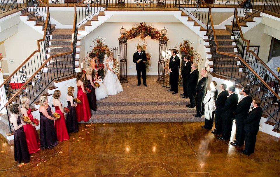 Fall Indoor Wedding