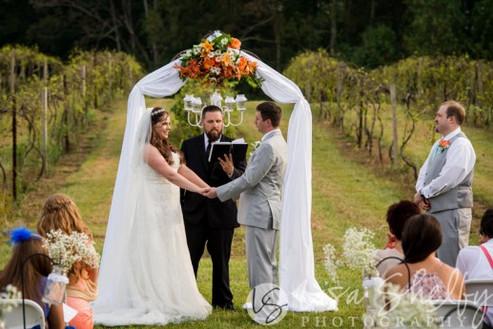 September Vineyard Wedding