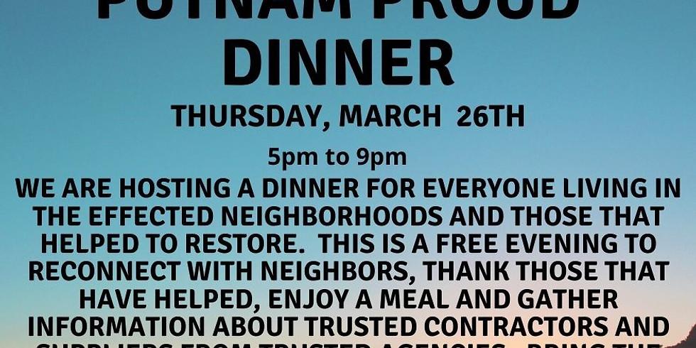 Putnam Proud Dinner-POSTPONED