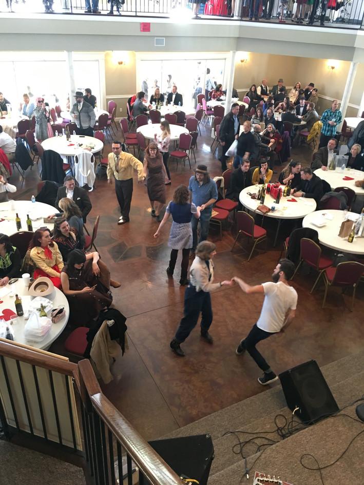 Dancing in the Bella Room