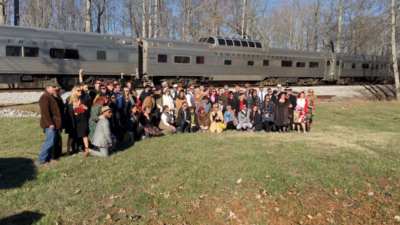 Group trip on the Wine Train