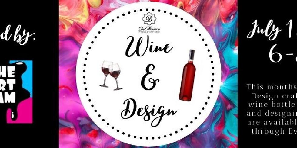 Wine & Design Craft Night