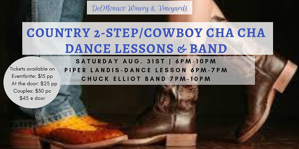 Country 2-Step/Cowboy Cha Cha Dance Lesson and Dance Night