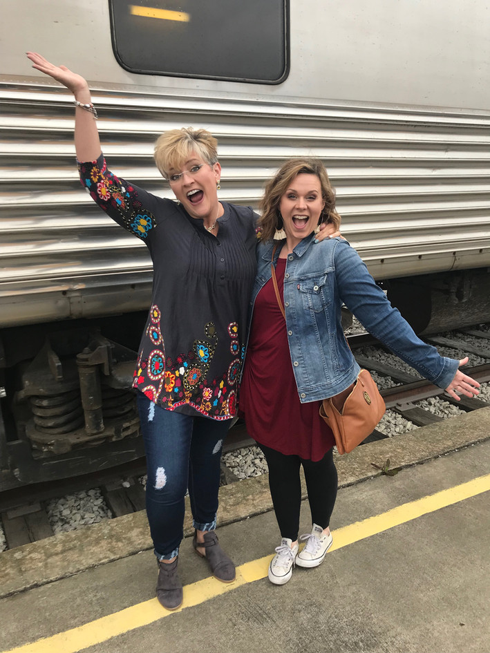 Excited for the Wine Train