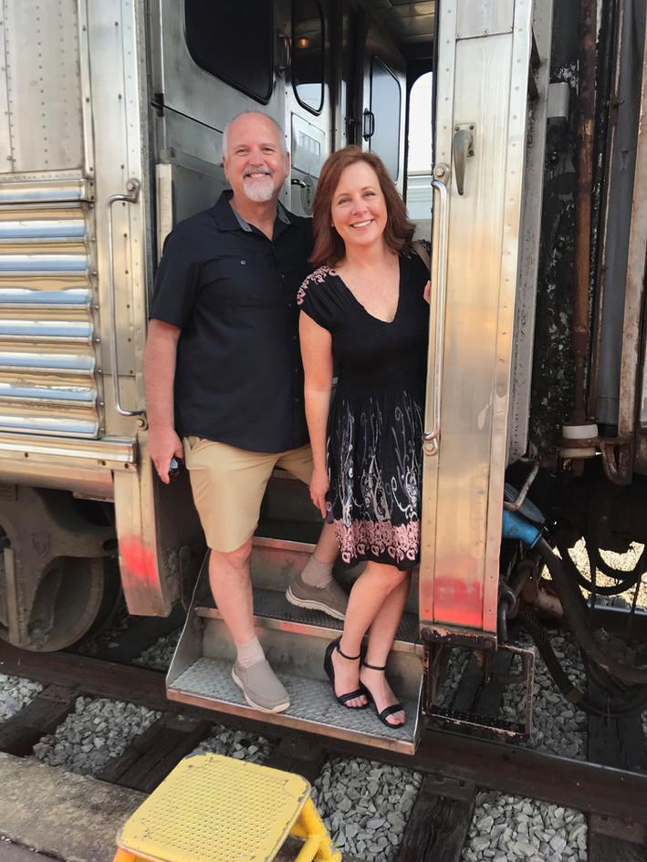 Wine Train Time