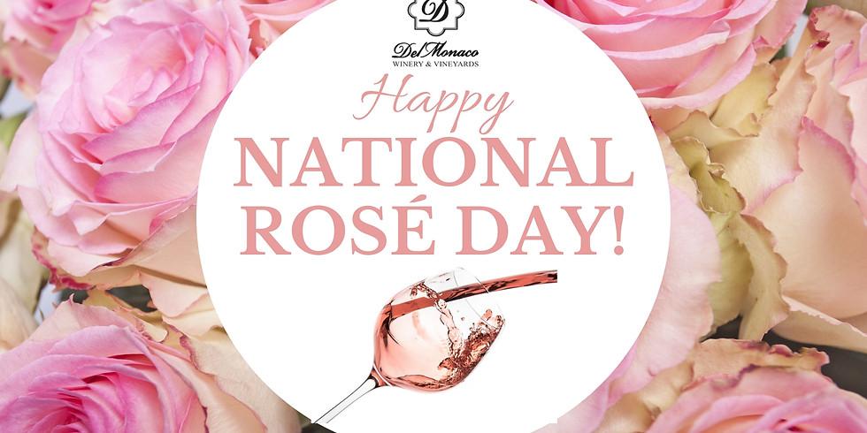 National Rosé Day at DelMonaco