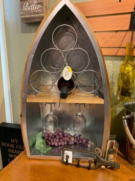 Boat Wine Bottle Holder