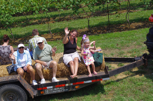 Going for a hayride