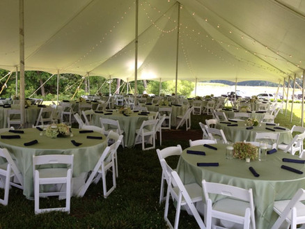 Tent on the Lawn