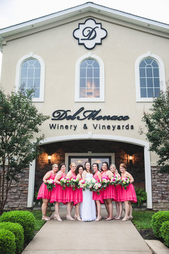Bridesmaids Out Front